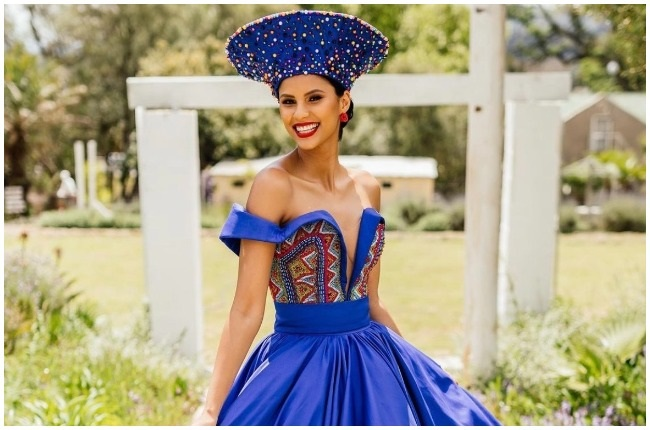 Former Miss SA, Tamaryn Green had a stunning umembeso ceremony this past weekend.