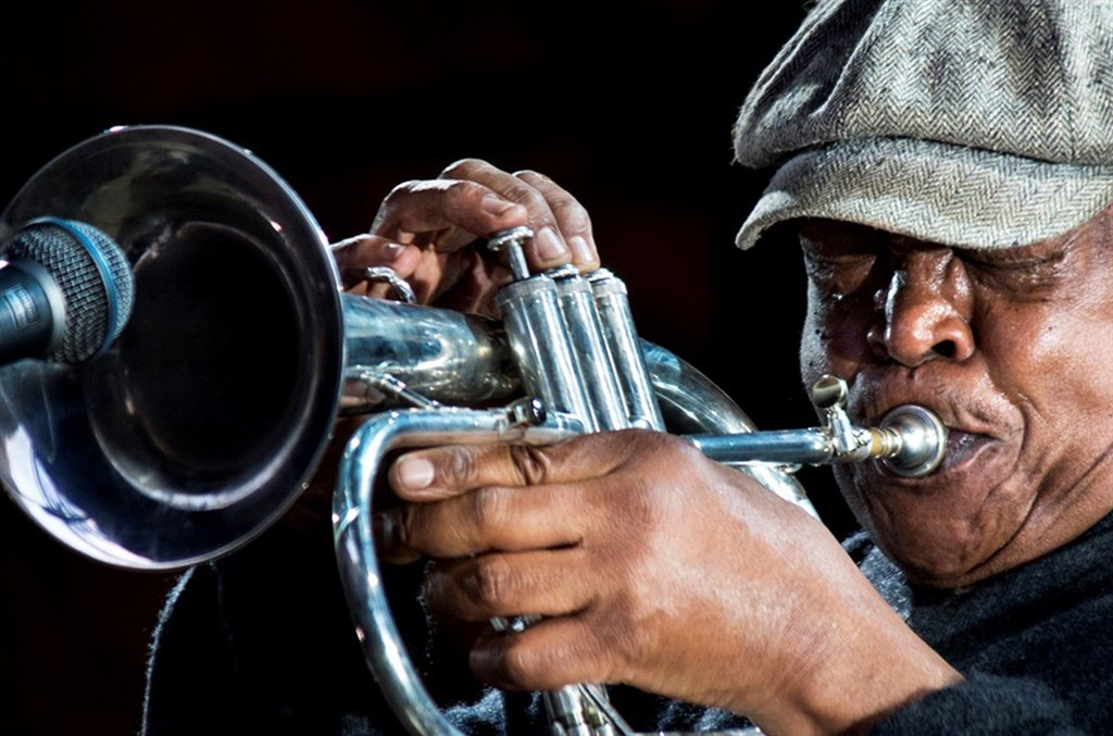 The legend, Hugh Masekela. Pictures: Supplied