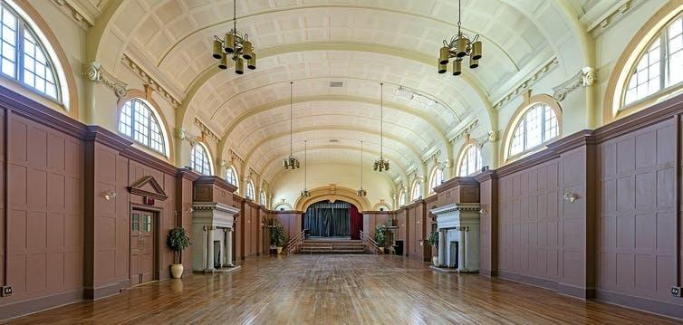 The unique Edwardian era gathering hall at the Weskoppies Psychiatric Hospital. (Photo: Alain Proust/Hidden Pretoria, CC BY)