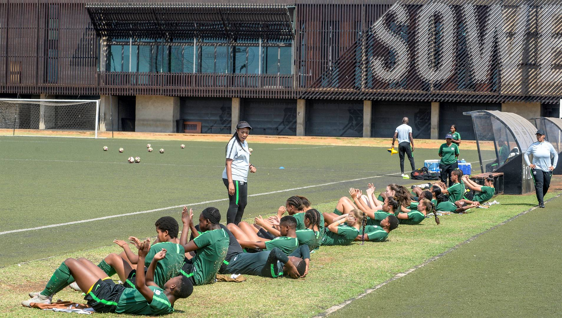 South African national teams were regular users of the Nike Football Centre in SowetoPicture: Sydney Seshibedi / Gallo Images