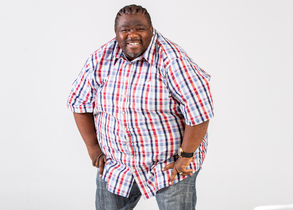 The bubbly Nkanyiso Bhengu is serious about losing weight with every step he takes.