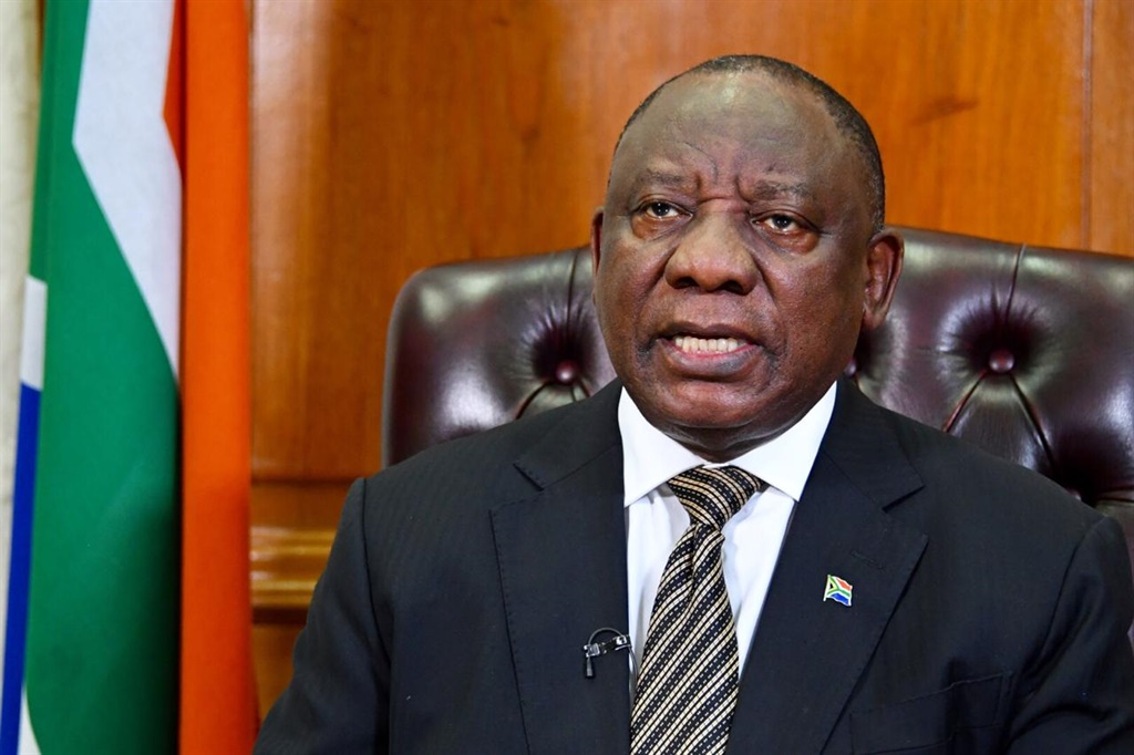 President Cyril Ramaphosa. Picture: The Presidency