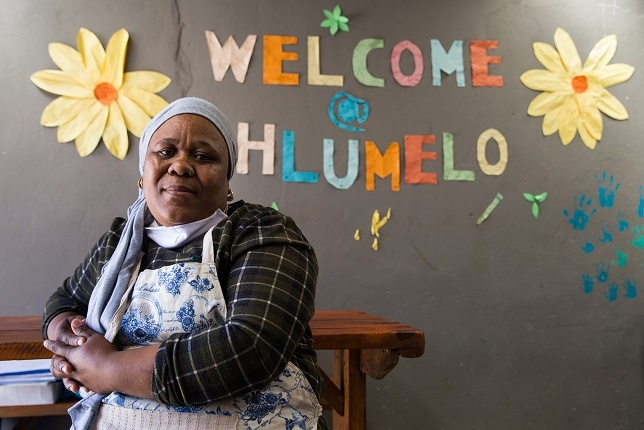 Phumeza Booi Welisa couldn't find a school for her son with autism so she started a school.
