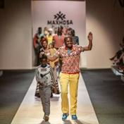 Laduma Ngxokolo imagined a MAXHOSA galaxy for the Spring/Summer '21 show at New York Fashion Week