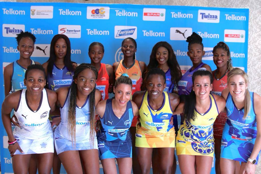The make up of the teams that will participate in this year's Telkom Netball League in Mangaung, Bloemfontein next month Picture: Supplied