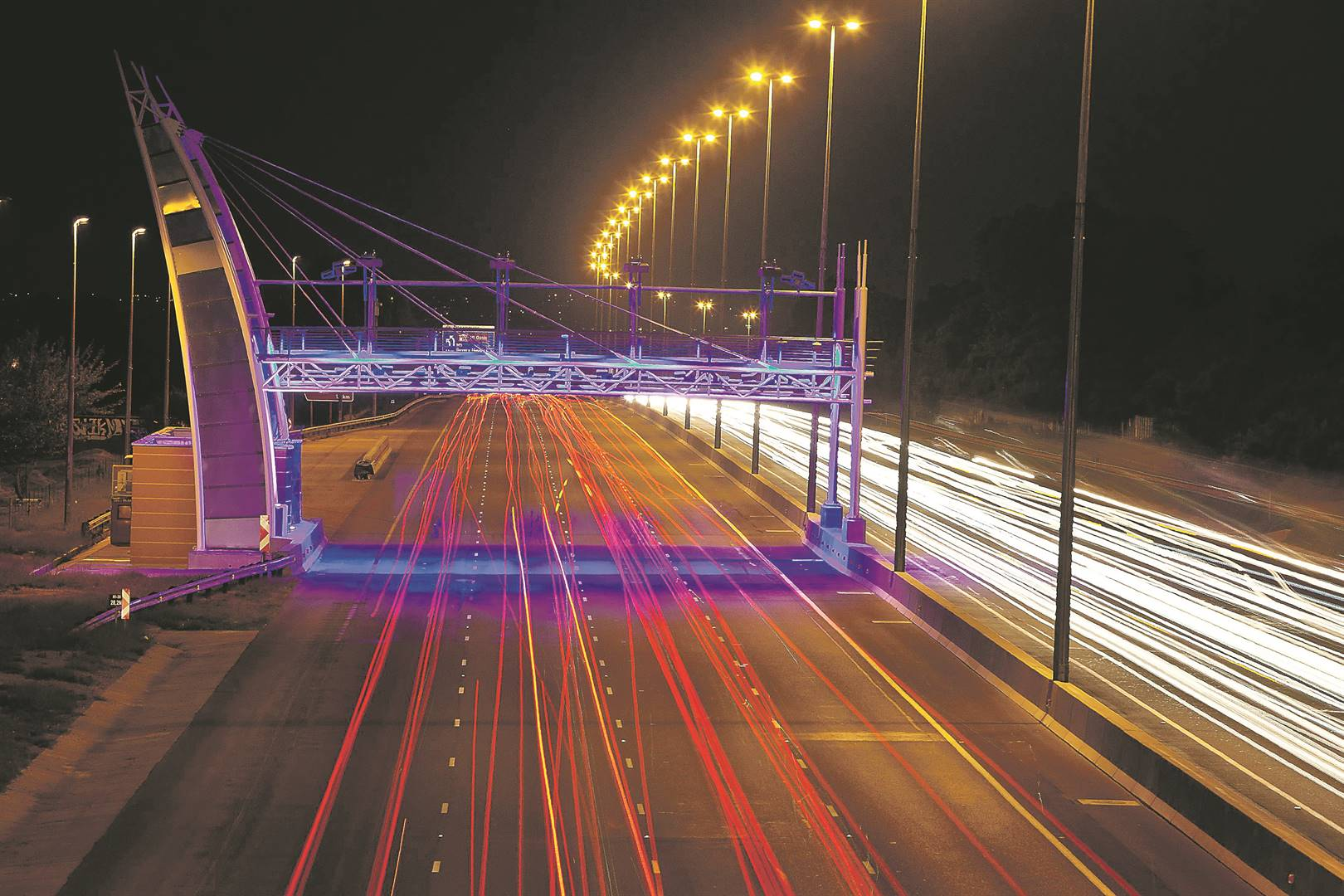 Introduced in 2013 in Gauteng, the e-toll system has so far failed as motorists refuse to pay up. Picture: Halden Krog / The Times / Gallo images