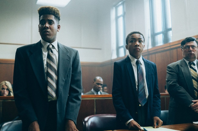 Korey Wise (Jharrel Jerome) and Kevin Richardson (Asante Blackk) face systemic racism in When They See Us.