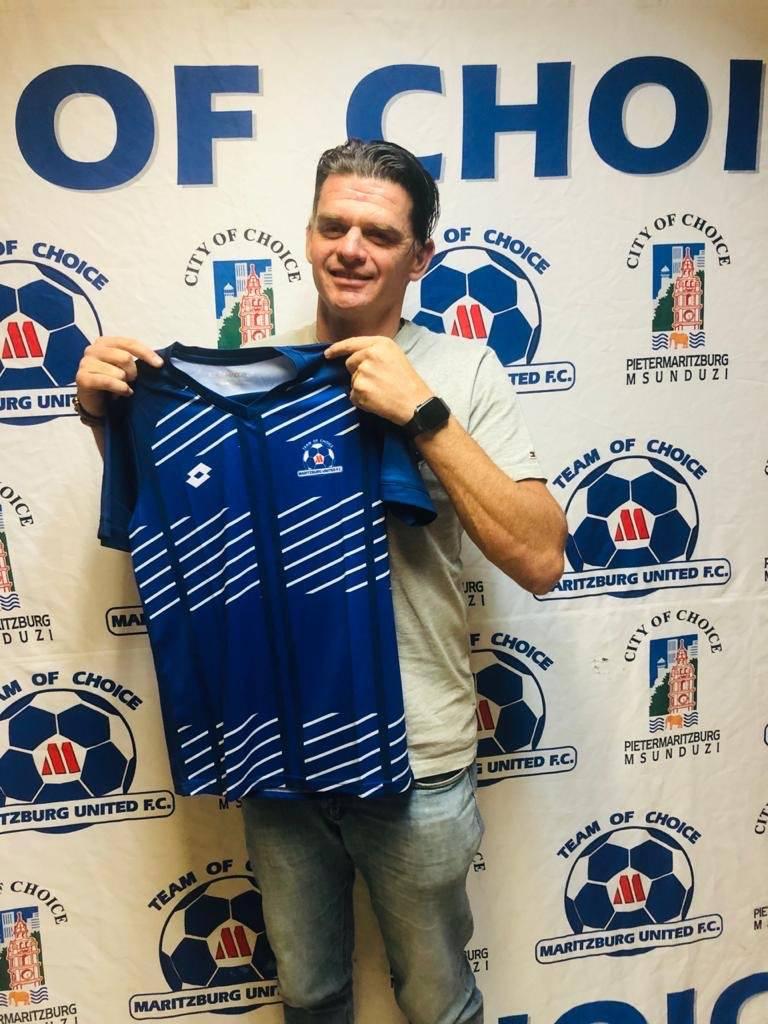 Rowen Fernandez is the new Maritzburg United goalkeeper coach Picture: Maritzburg United Twitter