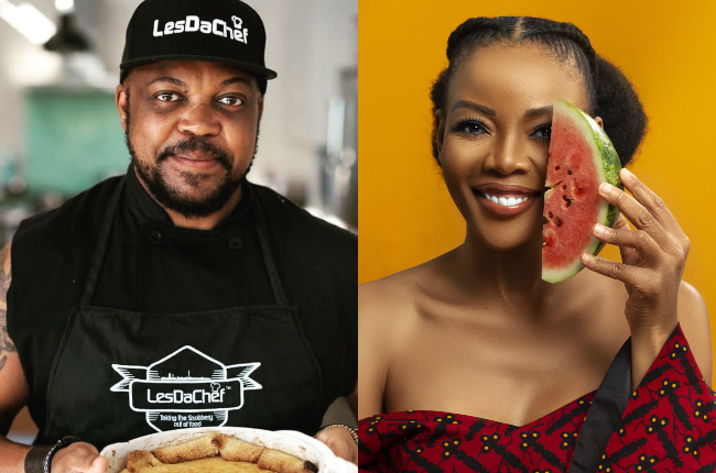 Celebrity chefs Les Da Chef and Chef Nti share their culinary Heritage Day thoughts.
