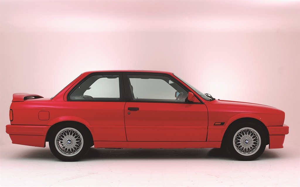 The 1990 BMW 325i Sport is endearingly referred to as a Gusheshe in South Africa. (Photo by National Motor Museum/Heritage Images/Getty Images)