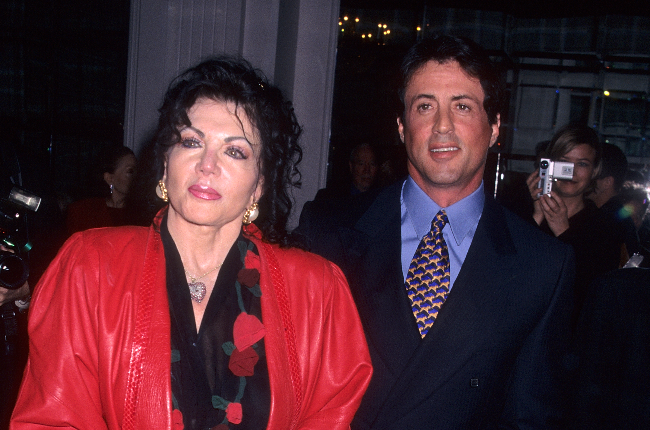 Jackie and Sylvester Stallone (Photo: Getty Images/Gallo Images)