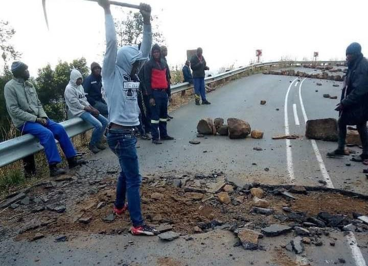 'It's Eskom's fault' - Umzinyathi mayor after protesters dig up road over lack of electricity, water - News24