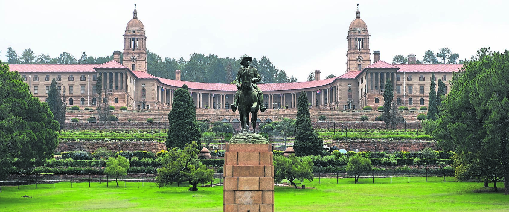A view of the Union Buildings PHOTO: Gallo images