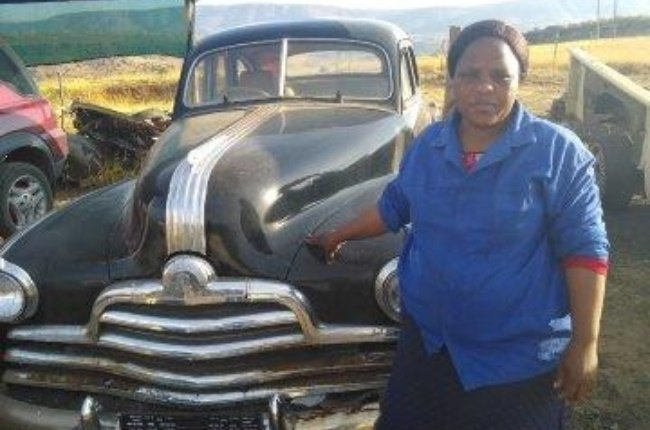 Nosipho (39) has always loved vintage cars, and after watching a TV show about car restoration, she was inspired to give it a try. (Photo: Supplied)