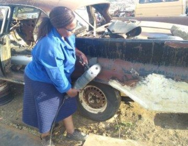 The cars are hired out for weddings and matric dan