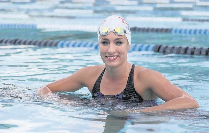Tatjana Schoenmaker was 'pretty shocked' by her times at the SA National Short Course Swimming Championships.