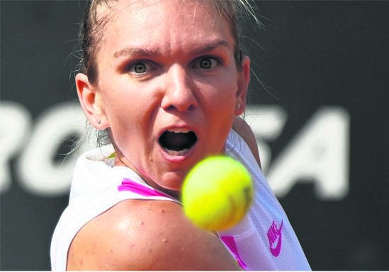 Simona Halep takes good form into the French Open starting next week in Paris. PHOTO: reuters