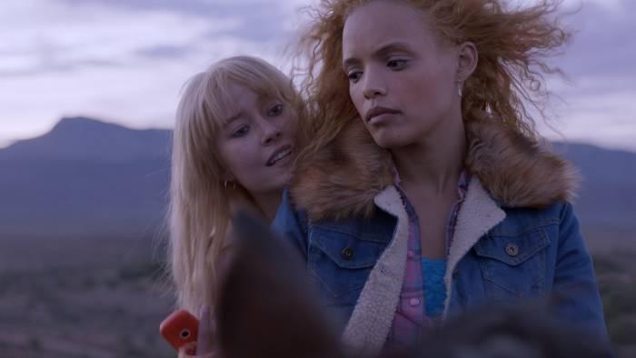 Poppie (left) and Natalie