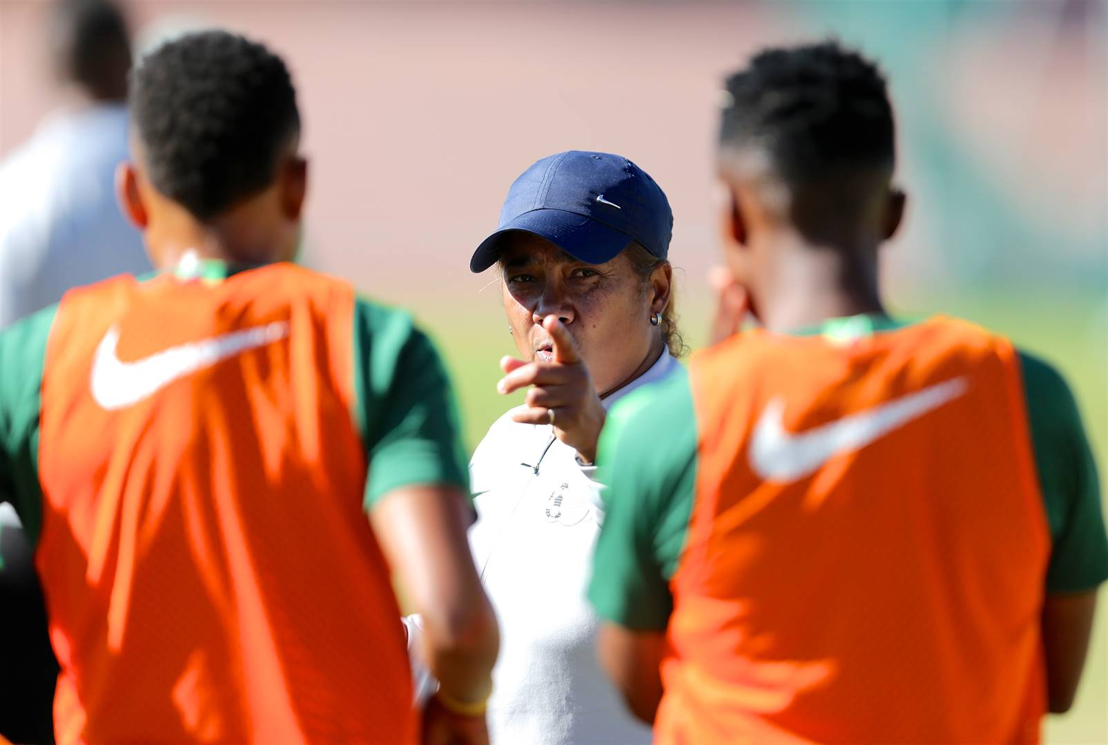 Coach Desiree Ellis and her Banyana Banyana team are back in Port Elizabeth to defend the Cosafa Cup title Picture: Richard Huggard / Gallo Images