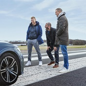 Top Gear hosts take on the Wall of Death