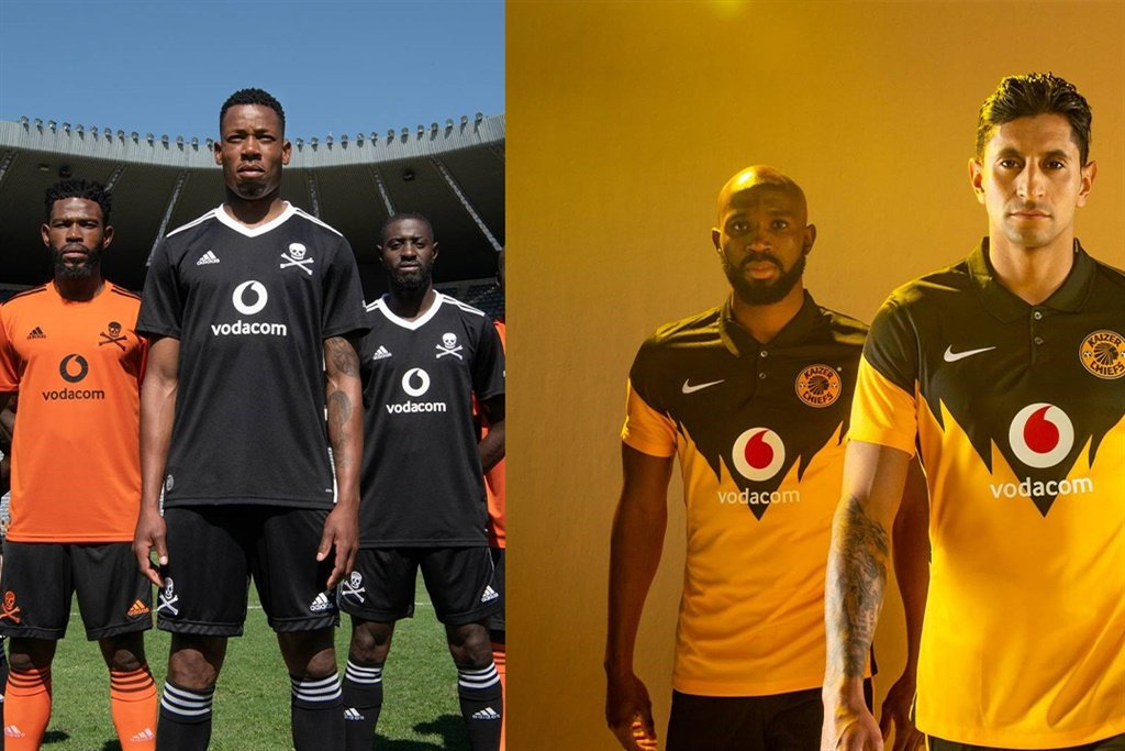The PSL's prominent trio of Kaizer Chiefs, Orlando Pirates and Mamelodi Sundowns have unveiled their new looks for the upcoming season