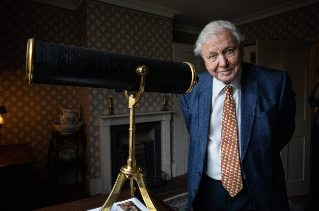 Sir David Attenborough. (PHOTO: GALLO IMAGES/GETTY IMAGES)