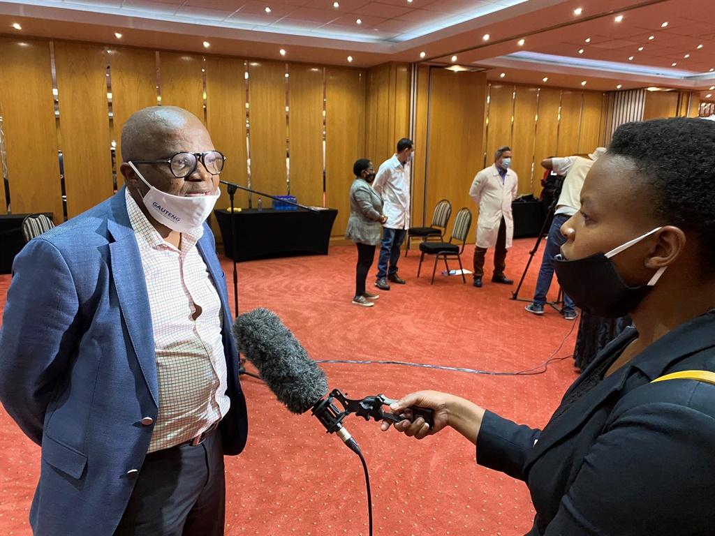 Mkhululi Lukhele. Picture: @GautengHealth/Twitter