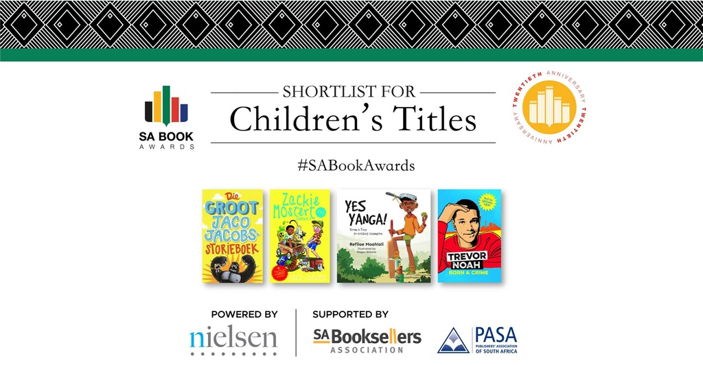 Shortlisted Children's Fiction titles at the SA Bo