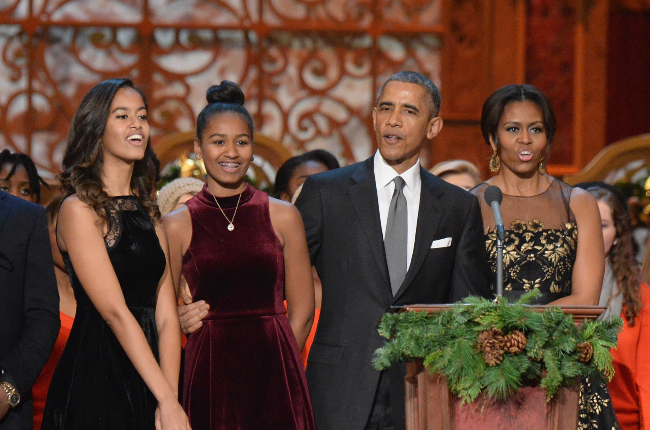 The Obamas have enjoyed lockdown together, but the girls are keen to return to campus (Photo: Getty Images/Gallo Images)