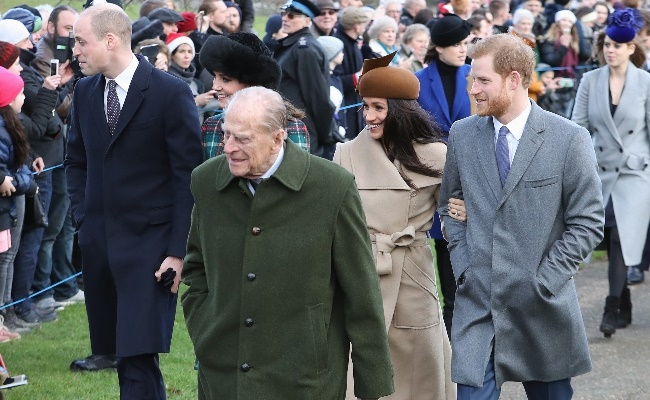 Philip and Meghan