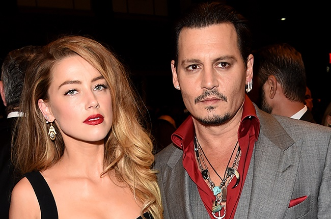 Amber Heard and Johnny Depp attend the