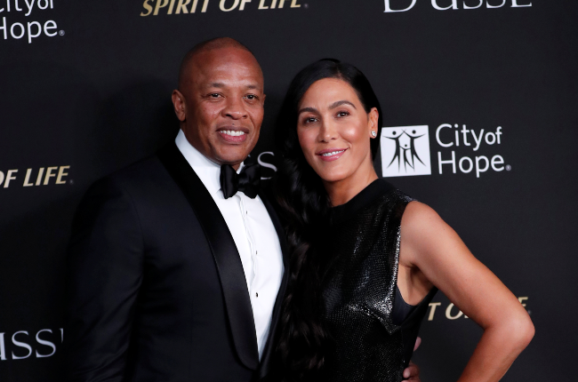 Dr Dre and Nicole Young's divorce is being decided by a court in LA
