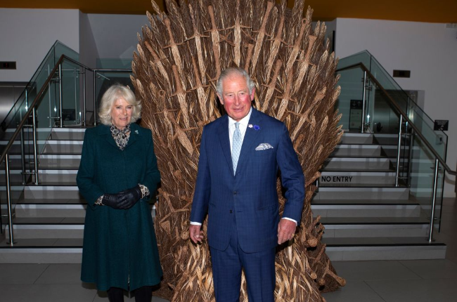 The Duke of Wales and the Duchess of Cornwall visited the Ulster Museum (Photo: Getty Images/Gallo Images)