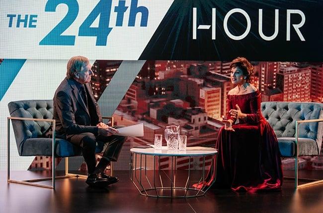 Derek Watts interviews Angelique Price (Michelle Botes) on Legacy.