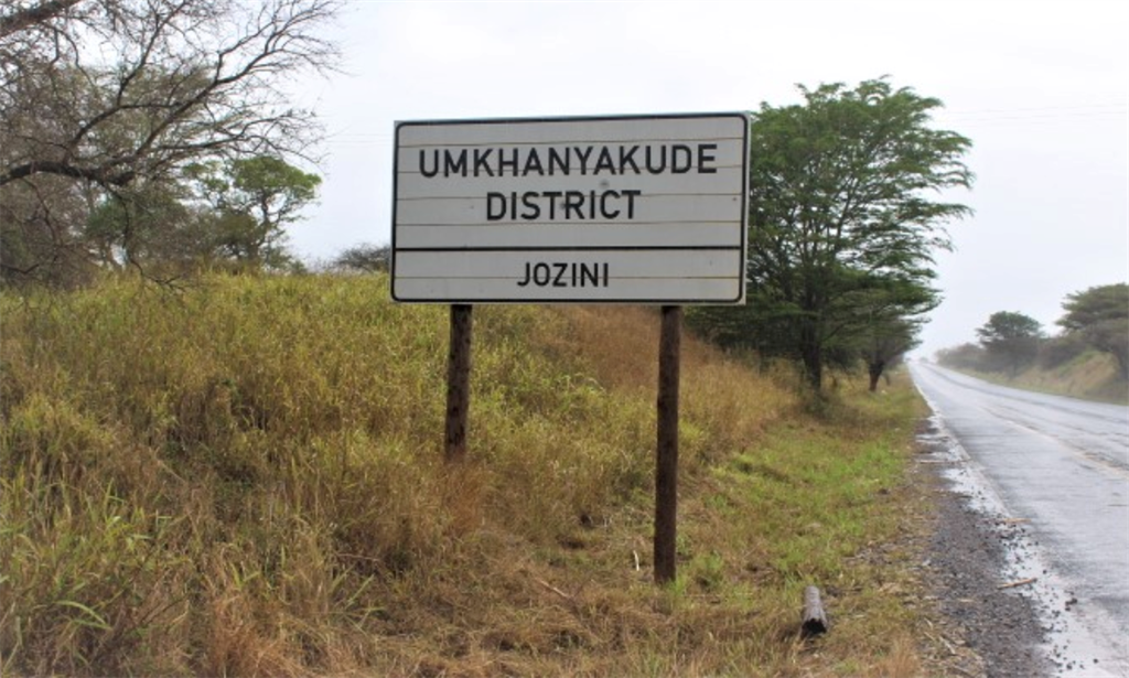 The rural Umkhanyakude District in the north of Kw