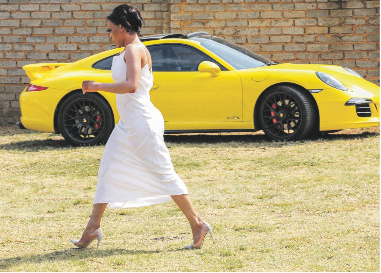 Standard Bank wants its money or Khanyi Mbau's cars back. Picture: Sharon Seretlo/ Gallo Images