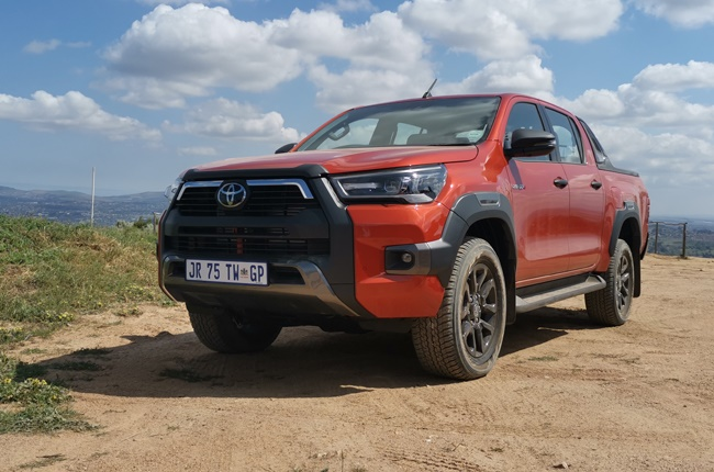 2021 Toyota Hilux (Wheels24 / Charlen Raymond )
