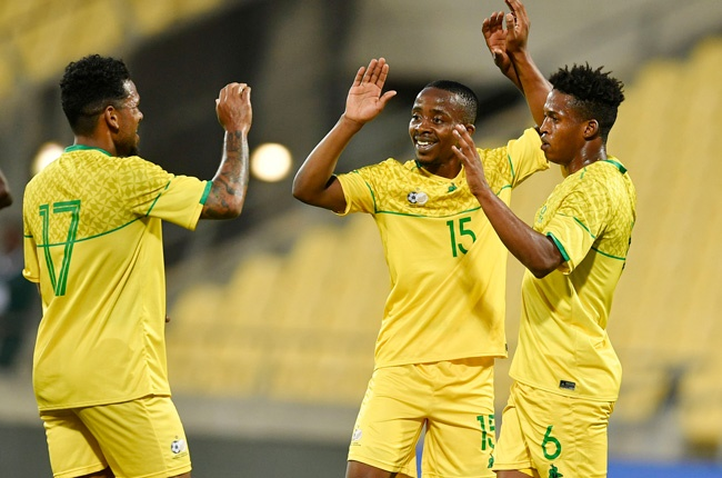 Kermit Erasmus, Thabo Nodada and Luther Singh (Gallo Images)