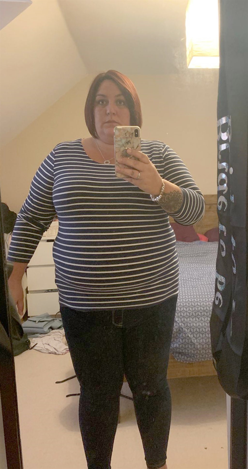 CATERS NEWS (PICTURED Ceri after weight loss) A mu