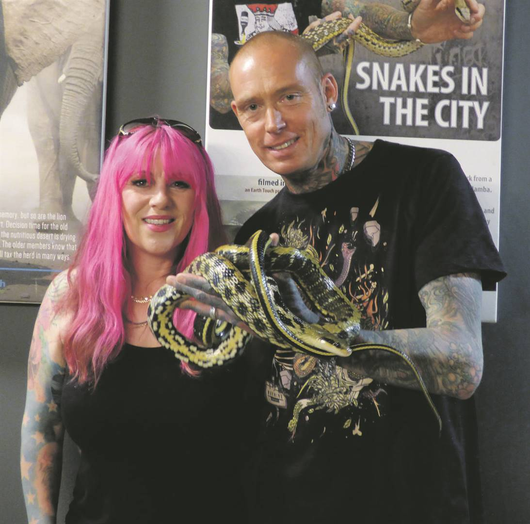 Siouxsie Gillett and Simon Keys of Snakes in the City.