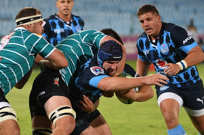 Marco van Staden of the Bulls during the Super Rugby Unlocked match between Vodacom Bulls and Tafel Lager Griquas at Loftus Versfeld on October 10, 2020 in Pretoria, South Africa. (Photo by Lee Warren/Gallo Images)