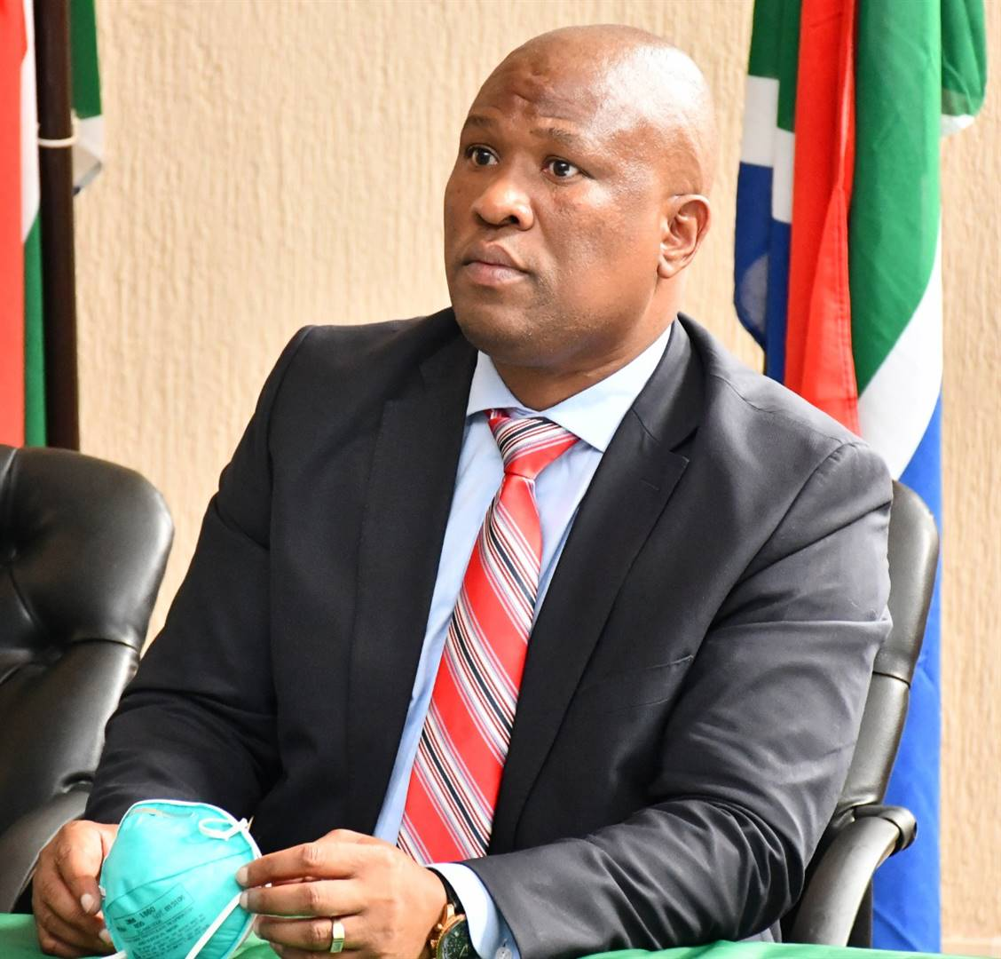 Oscar Mabuyane contends that Magashule has a political score to settle with him. Photo: Supplied/Archive