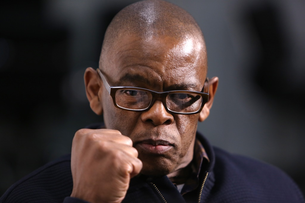 ANC secretary-general Ace Magashule has written a letter purporting to suspend party president Cyril Ramaphosa in apparent retaliation. Photo: Gallo Images/Sunday Times/Alon Skuy