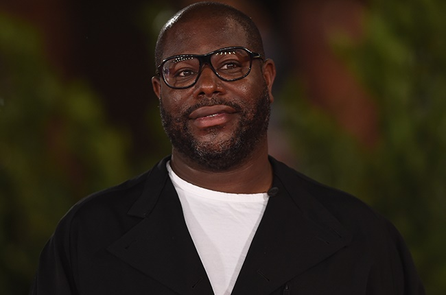 Director Steve McQueen attends the red carpet of the movie 'Small Axe - Ep. Red White and Blue' during the 15th Rome Film Festival.
