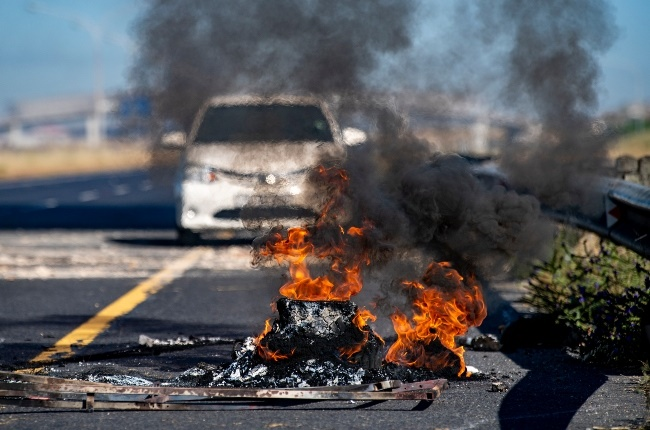 Protests broke out in Khayelitsha leading to some matriculants not being able to write their exams.