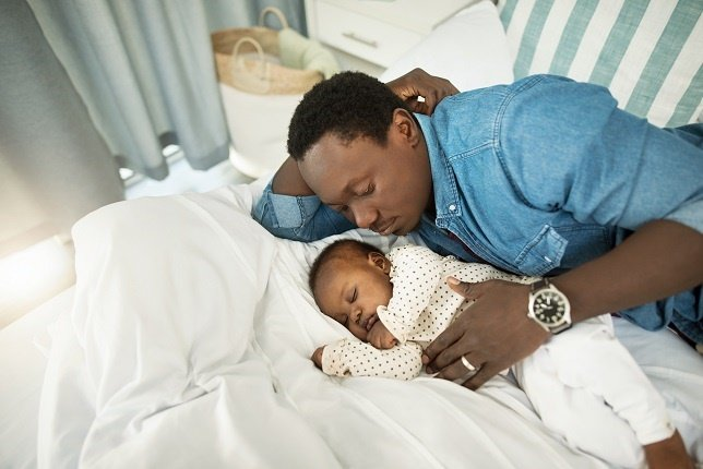 New parents feel exhausted beyond comprehension.
