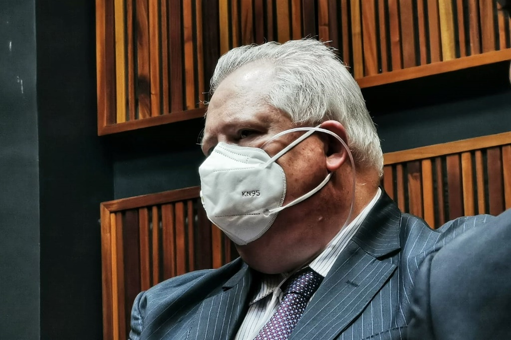 Angelo Agrizzi in court.