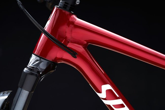 A close up of the slick welding techniques. (Photo: Specialized)