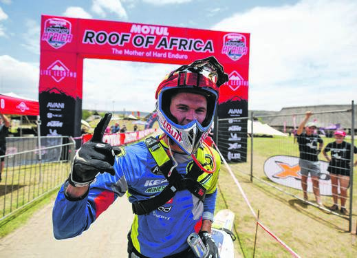 Wade Young from Paddock at the 2019 Motul Roof of Africa.