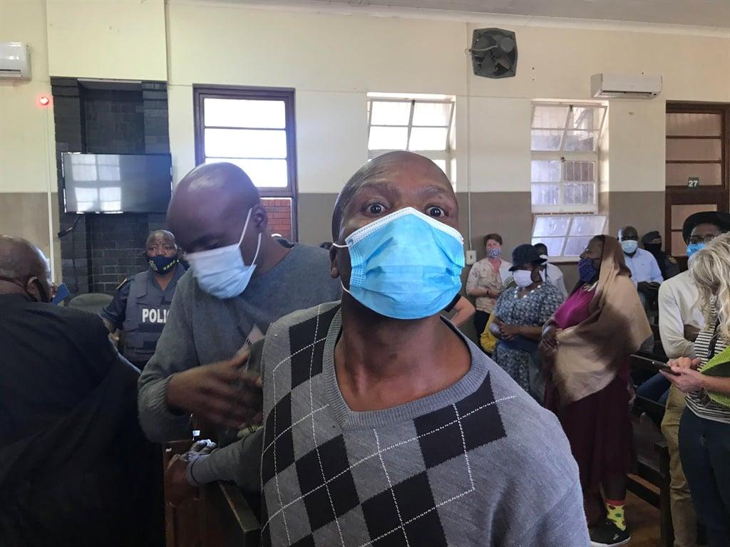Sekola Matlaletsa, 44, and Sekwetje Mahlamba 32, the men accused of murdering farm manager Brendin Horner.